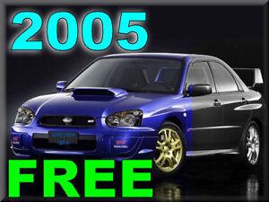 2005 subaru impreza sti rs wrx service cd free ship maintenance rh ebay com 2005 subaru sti owners manual 2005 subaru sti owners manual