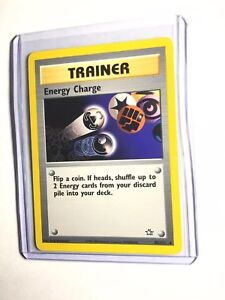 ENERGY-CHARGE-Neo-Genesis-85-111-Rare-Trainer-Pokemon-Unlimited-NM