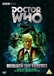 Doctor-Who-Beneath-The-Surface-Caja-Set-DVD-Silurians-Sea-Devils-amp-Warriors