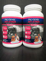 2 Pro Sense - Anti-stress Calming Tablets For Dogs-60 Ct Ea-exp: 7/18+ - Rc 3745