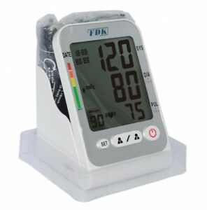 FT-C15Y-Temperature-Detector-Arm-Cuff-Blood-Pressure-Monitor-with-AC-DC-Adapter