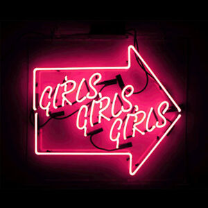 neon sign light arrow wall room beer bar pub decor x10 exposure
