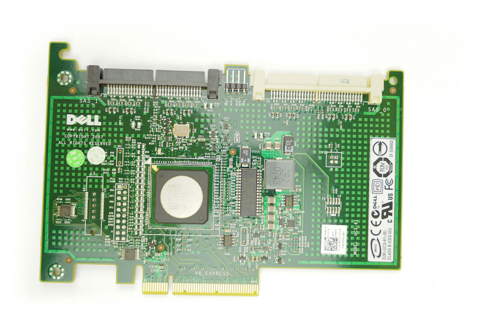 Dell (jw063) sas 6/IR