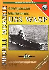 Profile Morskie 51: US Flugzeugträger USS Wasp (CV) Schiff-Modellbau/Pläne/Fotos