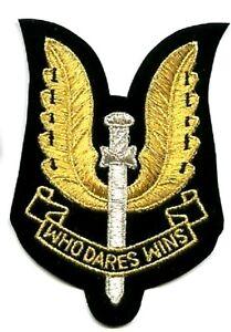 GB Spéciale Air Service SAS Jtf Recon Regiment Srr Vêlkrö Ensign: Who Dares Wins