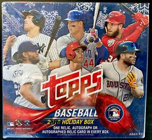 2018 Topps Holiday Baseball Mega Box 1 Relic, Autograph Acuna RC? 100 Cards ⚾️