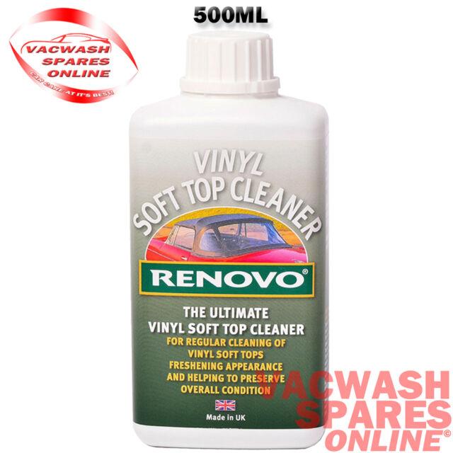 RENOVO VINYL SOFT TOP CLEANER - DEEP CLEAN - CARS - BOATS - VINYL DIRT REMOVER
