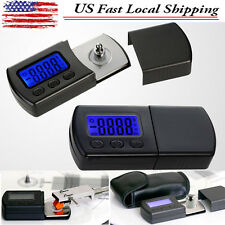 NEW Version led Professional LP Digital Turntable Stylus Force Scale Gauge - US