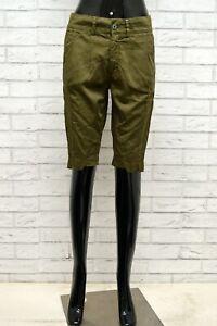 Pantaloncino-DONDUP-Donna-Taglia-25-Pantalone-Bermuda-Pants-Shorts-Slim-Cotone