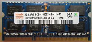 RAM-4GB-DDR3-PC3-10600S-2Rx8-1333MHz-PORTATILE-MEMORIA-204-PIN-SODIMM-HYNIX