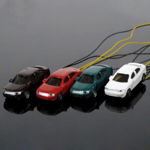 20pcs-1-150-N-Scale-Model-Lighted-Cars-With-12V-LEDs-for-Building-Layout-EC150