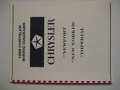 1968 CHRYSLER NEWPORT NEW YORKER IMPERIAL WIRING DIAGRA | eBay