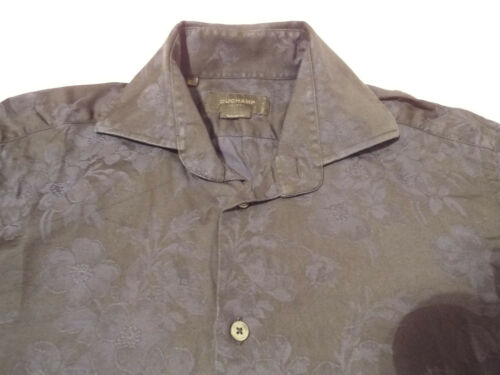 Floral 15 Rrp Mens Jacquard 42 Taille chest 5 145 Shirt Duchamp Cool nqx8g6tw6p