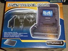 PLAYSTATION 2 PS2 SLIM Portátil 5.4 pulgadas Pantalla LCD Estuche de viaje Cargador de Coche NUEVO!