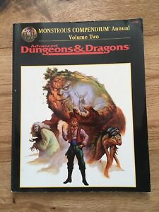 Monstrous Compendium Annual - Volume 2 -AD&D 2nd Edition - TSR
