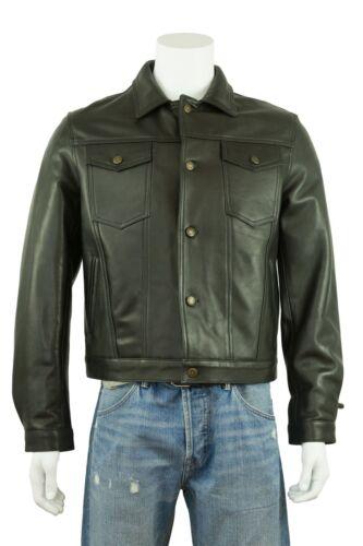 En Vachette En Cuir Cuir Rock Blouson De New Harley Men Noir Souple Biker Osx wAYxSvqx