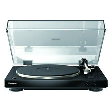 PIONEER PL-30-K AUDIOPHILE STEREO TURNTABLE - WITH DUAL-LAYERED CHASSIS BLACK