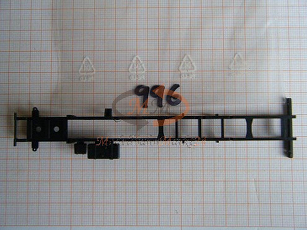 30x ALBEDO Ersatzteil Ladegut Chassis LKW Rahmen Fahrgestell schwarz 1 87 - 0996  | König der Quantität