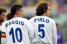 ROBY BAGGIO BRESCIA AS MATCH WORN AWAY ITALY LONG SLEEVED ERA GUARDIOLA PIRLO