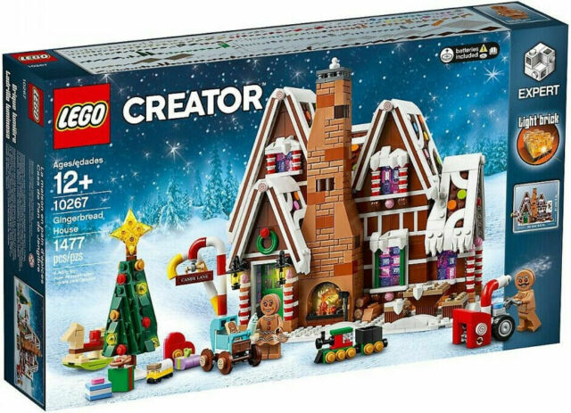LEGO Creator Expert Gingerbread House (10267) New FREE Canada Shipping