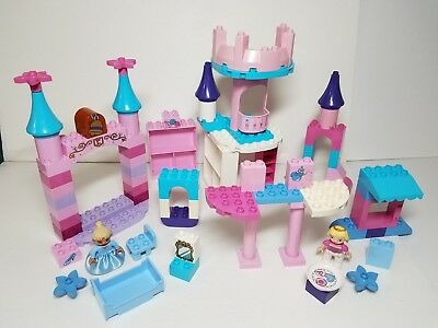 Snow White Prince Charming Disney Princess Castle Lego DUPLO Girls Pink Purple