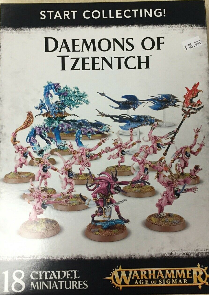 Warhammer 40K & Age of Sigmar START COLLECTING DAEMONS OF TZEENTCH Army New