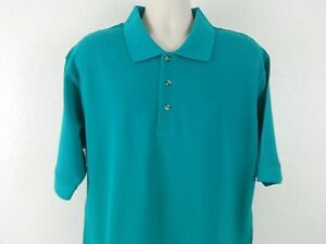 21f5608f3d NWOT TCD THE CHEF DESIGN Men s Shirt XL Green Solid Polo Rugby Short ...