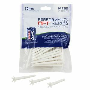 PGA-Tour-70mm-2-8-Low-Friction-Golf-Tees-Pack-of-30