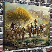 Jim Carson Indians Paintings HD Print on Canvas Home Decor Wall Art Pictures