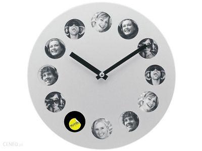 2019 Nuovo Stile Present Time Orologio Da Parete Photoframe-mostra Il Titolo Originale