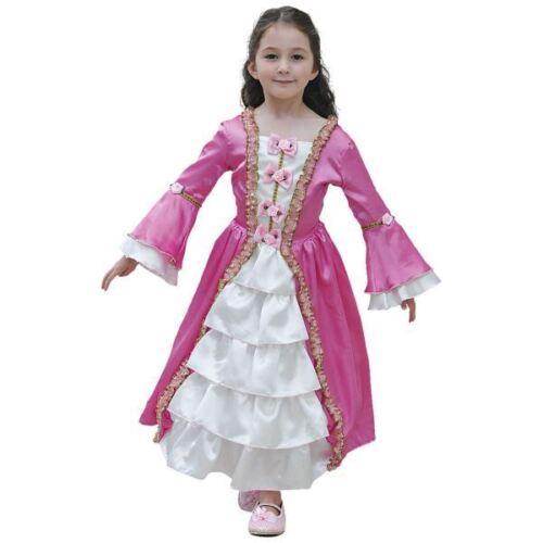 Maria Antonietta Costume da Principessa Bambino Fairytale Storico Costume 6-8 anni