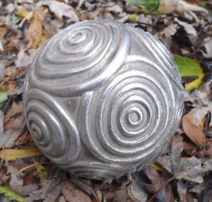 Latex-garden-ball-mold-4-034-W-x-4-034-H-plaster-concrete-casting-mould