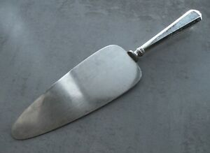 Unknown Hand Hammered by Cohr Sterling Silver Pie Server 9