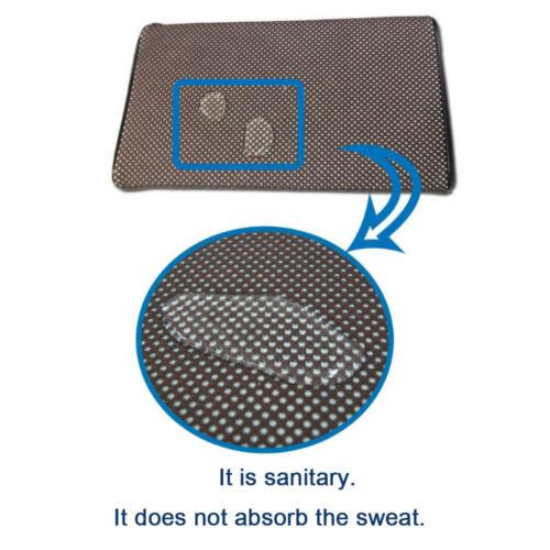 Korea 3D Mesh Breathable Head Neck Body Spa Bath Massage Pillow Water Repellent
