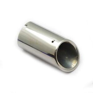 Chrome-Exhaust-Muffler-Pipes-Tip-For-VW-Golf-Mk6-Jetta-Mk6-Scirocco-Beetle-Bora