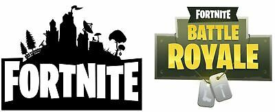 Fortnite Logo X 2 Edible Icing Cake Decoration Ebay Fortnite is one of the most popular video games, created by epicgames in 2017. fortnite logo x 2 edible icing cake decoration ebay