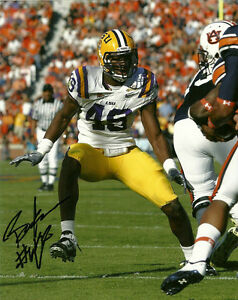 Details about CLEVELAND BROWNS BARKEVIOUS MINGO HAND SIGNED LSU TIGERS 8X10 PHOTO W/COA