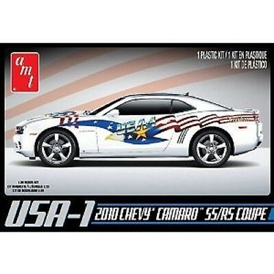 2010 CHEVY CAMARO SS RS COUPE USA-1 AMT 1/25 MODEL KIT NEW 778