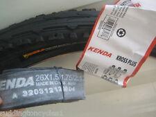 Kenda Puncture Resist / Protect cycle bike tyre 26 X 1.95 Semi Slick + tube
