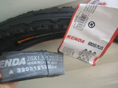 Kenda Puncture Resist tube Protect cycle bike tyre 26 X 1.95 Semi Slick