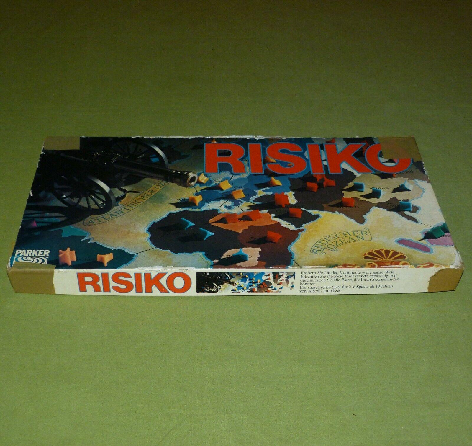 Risiko Strategiespiel von Parker mit mit mit 6 Würfeln ©1975  Erobern Sie... top Rar  0e6ea5