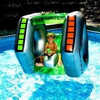 Giant 6 Person Inflatable Float Raft Pool Tropical Tahiti