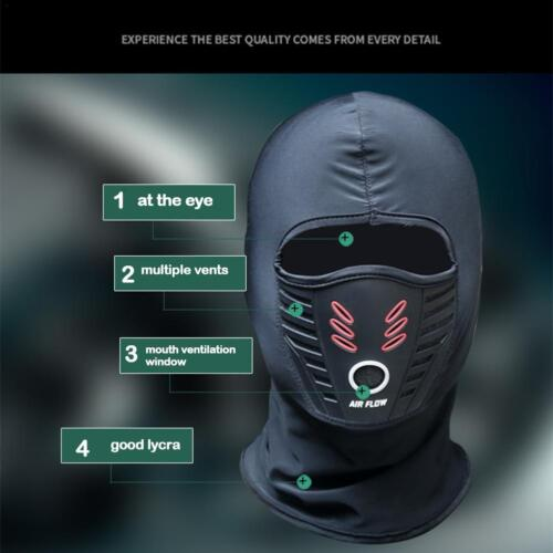 2X Balaclava Cold Weather Thermal Balaclava Face Mask Winter Fleece Waterproof @