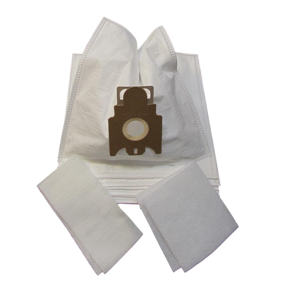 10 Staubsaugerbeutel geeignet für Progress S-Bag Hepa Anti-Allergy