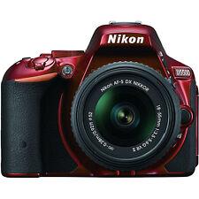 Nikon D5500 DX-format DSLR Camera w/ AF-S NIKKOR 18-55mm f/3.5-5.6G VR II Lens