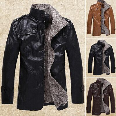 Men/'s Winter Warm Snowflake Windbreaker Coat Pure Jacket Business Suit Outwear