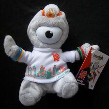 Orig.Maskottchen   Olympische Spiele LONDON 2012 - WENLOCK / 15 cm - mit Etikett
