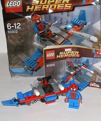 Lego 30302 Marvel Super Helden Spiderman / Ultimate Spiderman mit Gleiter OVP