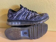 Nike Air Max 2016 Print Sz 9.5 100 Authentic Running Concord
