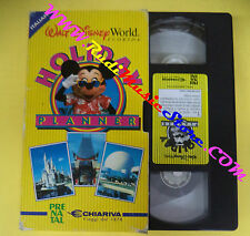 film VHS cartonata HOLIDAY PLANNER topolino WALT DISNEY WORLD FLORIDA(F21)no dvd